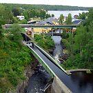 Bridges at Håverud Sweden by HELUA