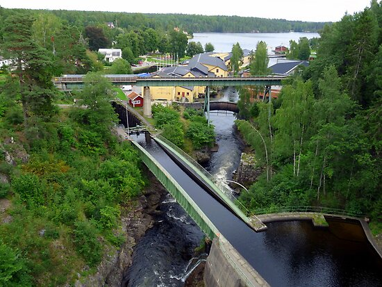 Bridges at Håverud Sweden by HELUA