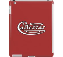 Classic Car Logos: Cartercar iPad Case/Skin