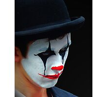 Clown Face Photographic Print