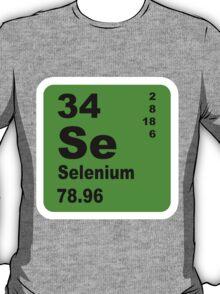 Selenium Periodic Table of Elements T-Shirt