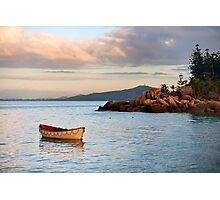 Lifeboat on the point Photographic Print