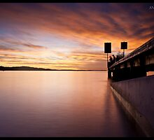 Smooth - Little Bay, Port Stephens by Andrew Kerr