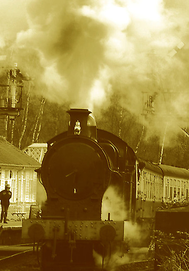Steam by Trevor Kersley