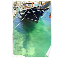 Under the sea, Mykonos Poster