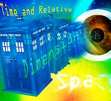TARDIS Time and Relative Dimension in Space by FieryFinn77