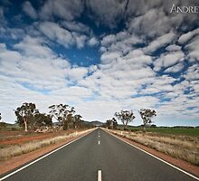 Road to Hillston by Andrew Kerr