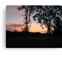 Tranquility in June Canvas Print
