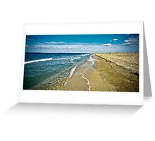 seascape-September, the Crimea, Shelkino Greeting Card