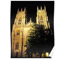 York Minster by night Poster