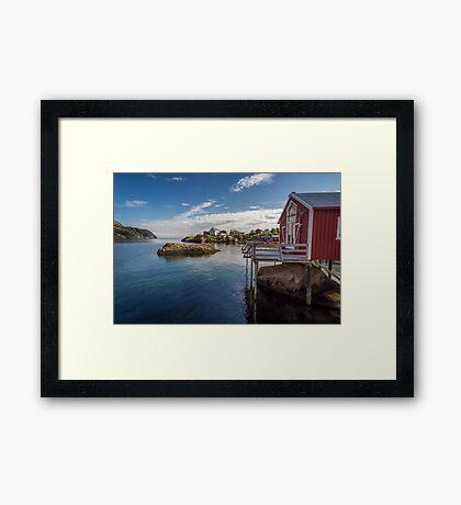 Nusfjord, Norway Framed Print