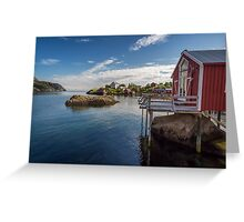 Nusfjord, Norway Greeting Card
