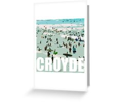 Croyde surfers Greeting Card