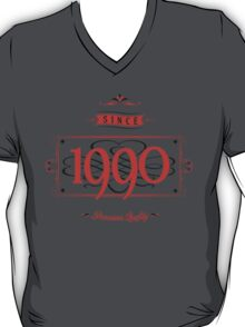 Since 1990 (Red&Black) T-Shirt
