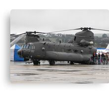 Royal Air Force Chinook Canvas Print