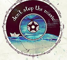 Don't stop the music by Sybille Sterk