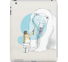 Polar bear and Girl iPad Case/Skin