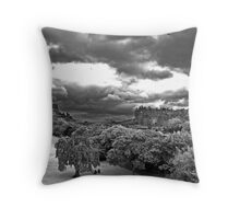 Edinburgh IR Throw Pillow