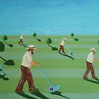 Cutting the grass, cutting the grass, cutting the grass... by Ron Easen