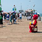 Loner, Santa Monica Pier by Chris Muscat