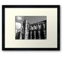 Sacred Shadows Framed Print