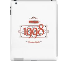 Since 1998 (Red&Black) iPad Case/Skin
