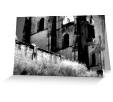 Silence in the Alley  Greeting Card