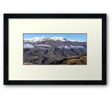 Crown Range Road Framed Print