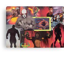 Testosterone Inferno Canvas Print