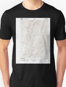 Massachusetts  USGS Historical Topo Map MA Hancock 20120120 TM T-Shirt