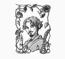Gustavo Adolfo Bécquer v. B&W Unisex T-Shirt