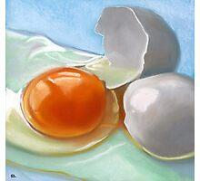 an egg Photographic Print
