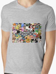 Cartoon network Mens V-Neck T-Shirt