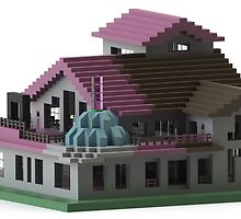 PimpLippy's Design - Lippy's Minecraft House  by GGGFanWork