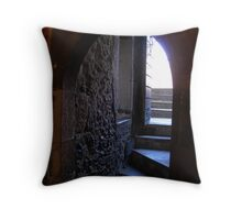 Medieval Stairs - Door to the Past - Tower of London. Throw Pillow