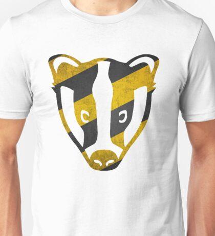Badger - Yellow & Black Stripes Unisex T-Shirt