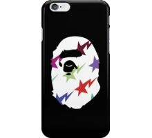 BAPE (MULTI-COLOR STAR PRINT) iPhone Case/Skin