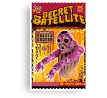 The Secret Satellite Mail Order Flyer #12 Canvas Print