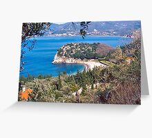 Adriatic Coast Greeting Card