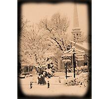 Winter Woodstock, New York Photographic Print