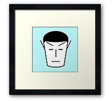 Spock-ish Framed Print