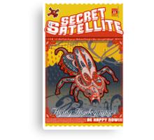 The Secret Satellite Mail Order Flyer #11 Canvas Print