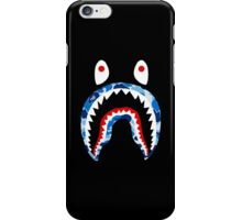 BAPE BLUE CAMO SHARK iPhone Case/Skin