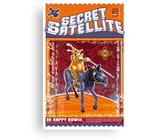 The Secret Satellite Mail Order Flyer #10 Canvas Print