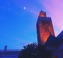 Dusk in Morocco, EPCOT World Showcase by melodykphotos