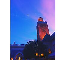 Dusk in Morocco, EPCOT World Showcase Photographic Print