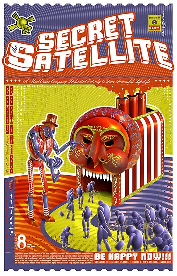 The Secret Satellite Mail Order Flyer #9 by Kristian Olson