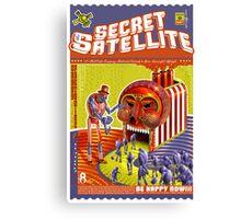 The Secret Satellite Mail Order Flyer #9 Canvas Print