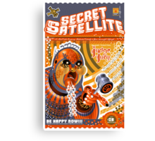 The Secret Satellite Mail Order Flyer #8 Canvas Print