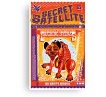 The Secret Satellite Mail Order Flyer #7 Canvas Print